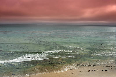 Stormy Ocean Panorama Poster