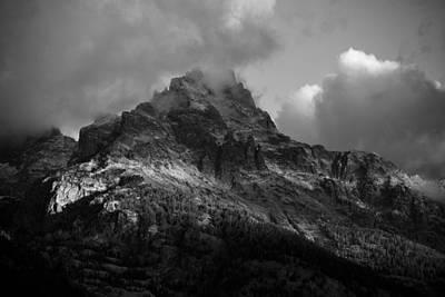 Stormy Peaks Poster