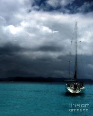 Stormy Sails Poster