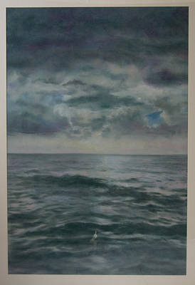 Stormy Sea Poster by Paez  Antonio