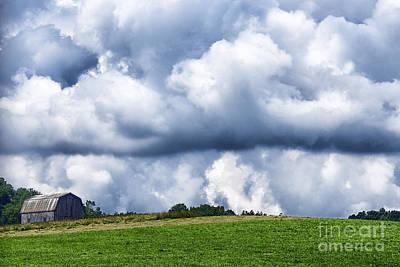Stormy Sky Poster by Thomas R Fletcher
