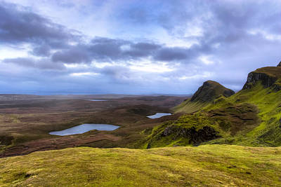 Storybook Beauty Of The Isle Of Skye Poster by Mark E Tisdale