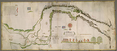 Straits Of Magellan Poster by British Library