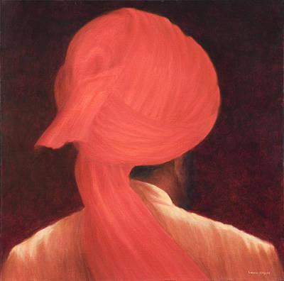 Strange Turban Poster by Lincoln Seligman
