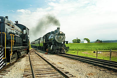 Strasburg Express Poster by Paul W Faust -  Impressions of Light
