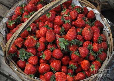Strawberry Basket Poster