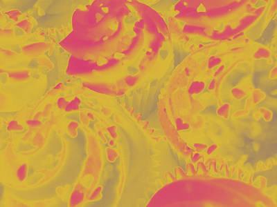 Strawberry Cream Poster by Erica  Darknell