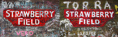 Strawberry Fields Forever Poster by Semmick Photo