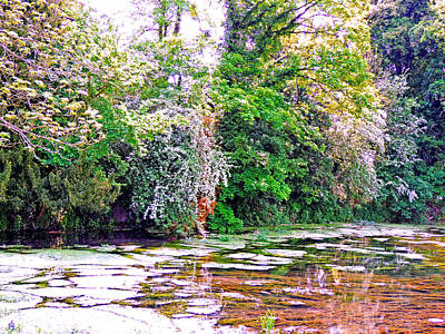 Serene Stream High Wycombe Poster by Marilyn Holkham