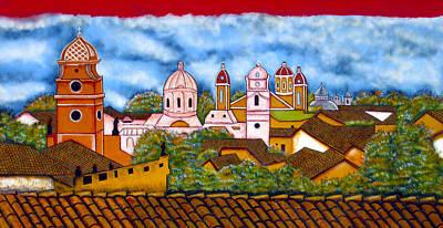 Street Art Granada Nicaragua 3 Poster