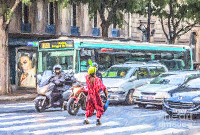 Street Juggler Poster