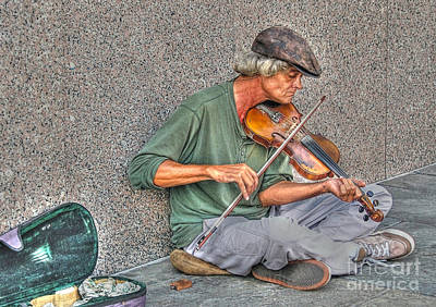 Street Music Poster