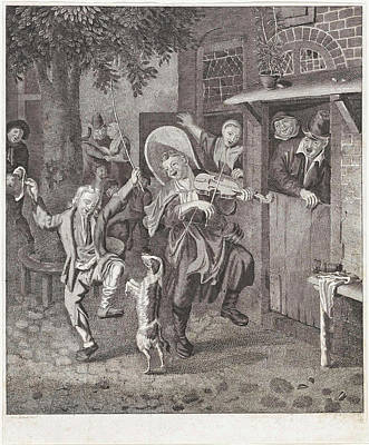 Street Musicians, Anonymous Poster