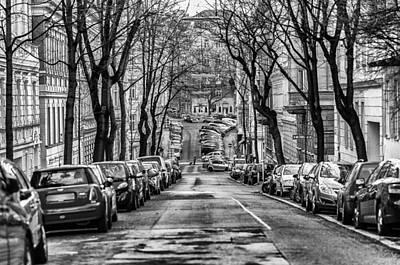 Street Poster by Oleksandr Maistrenko