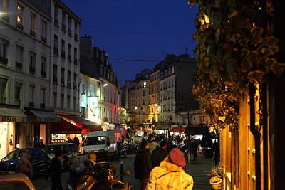 Street Scenes - Paris France - 011314 Poster by DC Photographer