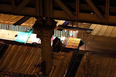 Street Scenes - Paris France - 011323 Poster by DC Photographer