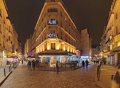 Street Scenes - Paris France - 011328 Poster