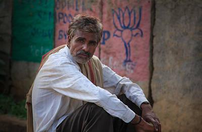 Street Vendor - India Poster