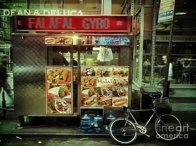 Street Vendor New York City Poster