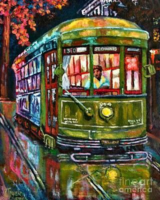 Streetcar Night Poster by Lisa Tygier Diamond