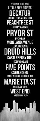 Streets Of Atlanta 2 Poster