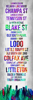 Streets Of Denver 1 Poster