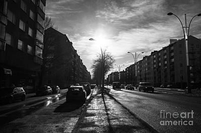 Streets Of Helsinki Poster