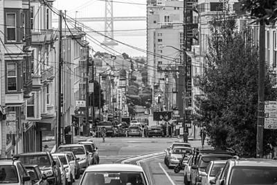 Streets Of San Francisco Poster by Ken Kobe
