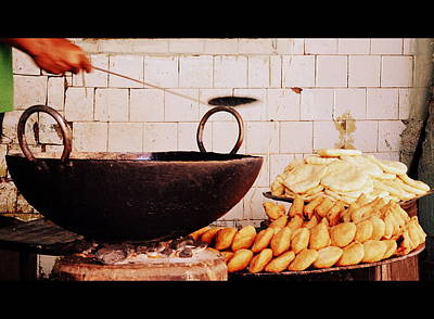 Poster featuring the photograph Streetside Delicacy by Rima Biswas