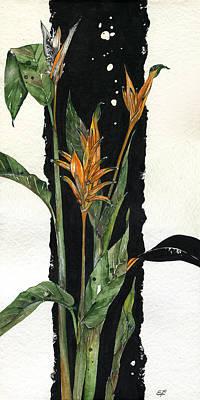Strelitzia - Bird Of Paradise 12 Poster by Elena Yakubovich