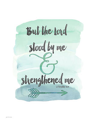 Strengthened Me Poster