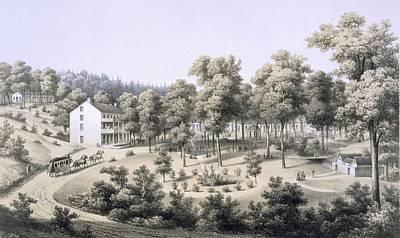 Stribling Springs, Spa Village, Augusta Poster