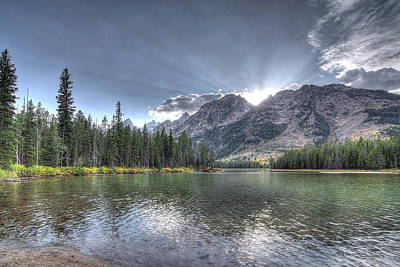 Poster featuring the photograph String Lake by Jeremy Farnsworth