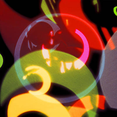 String Of Lights 2 Poster by Mike McGlothlen
