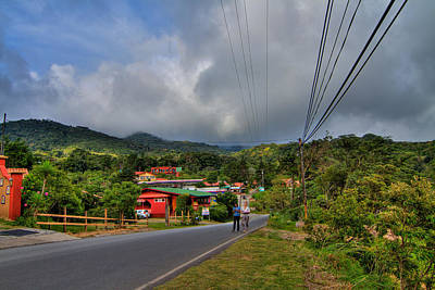 Strolling Around Monteverde In Costa Rica Poster