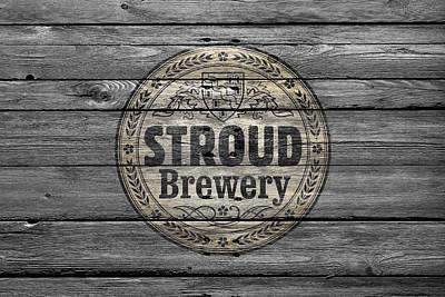 Stroud Brewing Poster by Joe Hamilton