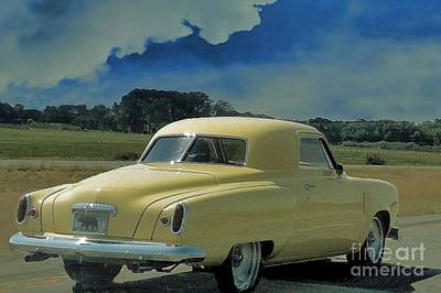 Studebaker Starlight Coupe Poster by Janette Boyd
