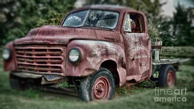 Studebaker Truck Poster by Baltzgar
