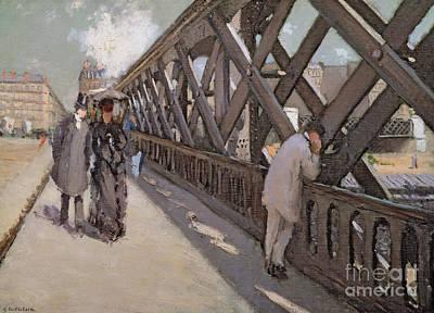 Study For Le Pont De L Europe Poster