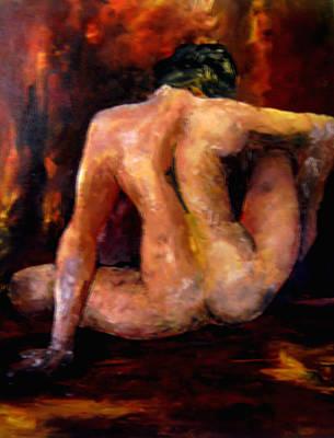 Study Nude 1 Poster by Hafies Dwi Priyadi