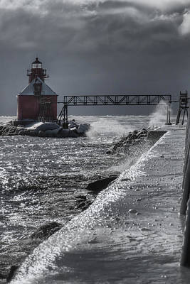 Sturgeon Bay After The Storm Poster