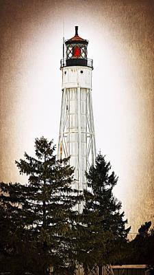 Sturgeon Bay Ship Canal Lighthouse IIi Poster by Joan Carroll