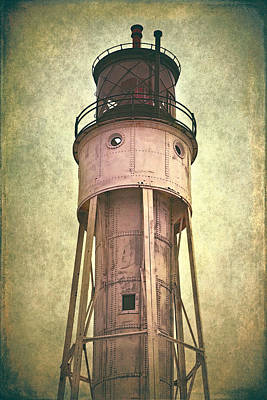 Sturgeon Bay Ship Canal Lighthouse Poster by Joan Carroll