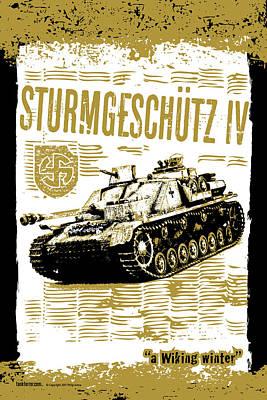 Sturmgeschutz Iv Poster