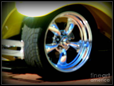 Poster featuring the photograph Stylin' Wheels by Bobbee Rickard