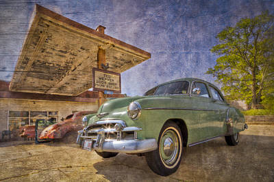 Stylish Chevy Poster by Debra and Dave Vanderlaan