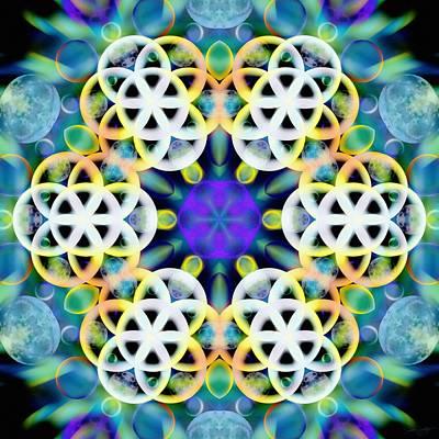 Subatomic Orbit Poster