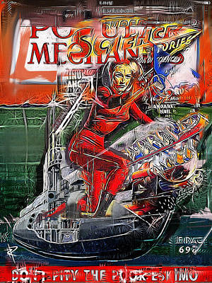 Submarine Queen Poster