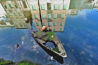 Suburb Of Venice Poster by Arsenije Jovanovic