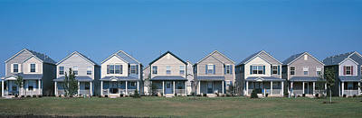 Suburban Housing Development Joliet Il Poster by Panoramic Images